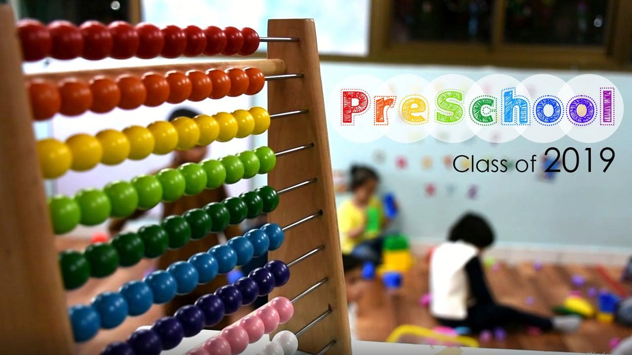 AIS PreSchool Class of 2019 - Montage