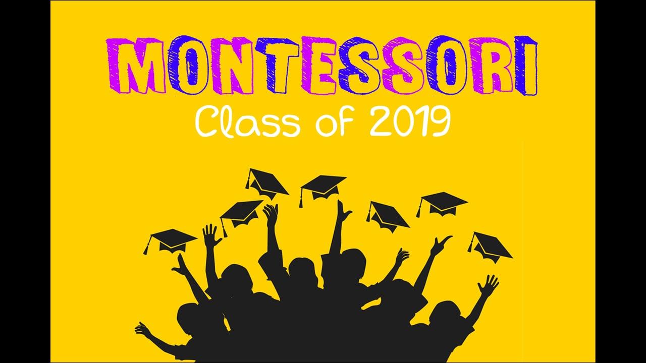 AIS Montessori Class of 2019 (Karachi Campus) - Montage