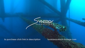 518 oil rig platform legs underwater gulf of mexico oil and gas drilling rig deepwater