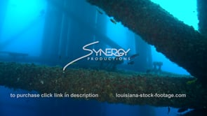 509 Louisiana texas offshore drilling underwater oil gas platform legs
