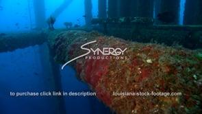 510 dolly along oil rig leg texas louisiana offshore oil gas drilling