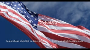 1278 patriotic american flag epic low angle slow motion