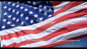 1277 epic close up american flag slow motion