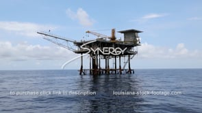 459 decommissioned oil gas platform slow dolly into