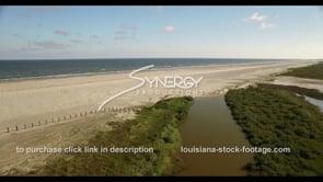 527 Louisiana coastal restoration stock footage video