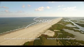 528 coastal beach restoration meets eroding marsh land of Louisiana