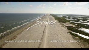 529 Epic Louisiana coastal restoration video stock footage