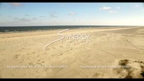 534 louisiana coastal beach dune restoration video stock footage