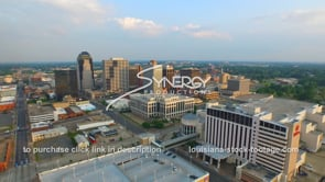 1249 shreveport stock footage video aerial drone view