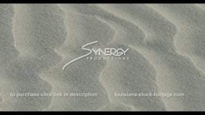 574 CU sand blown by the wind video stock footage