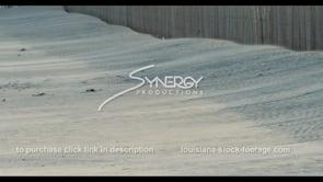 578 Nice shot wind blows sand across beach to sand dune fence beach restoration preservation