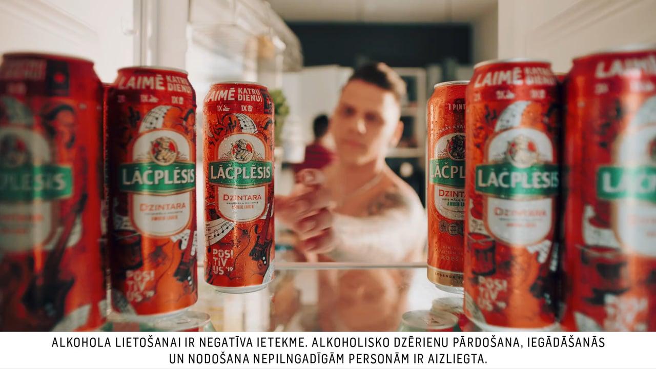 Lacplesis Summer beer TVC