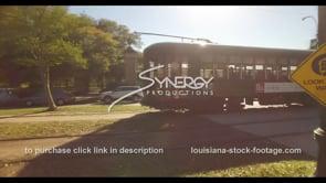 1103 Streetcar trolley stock footage video