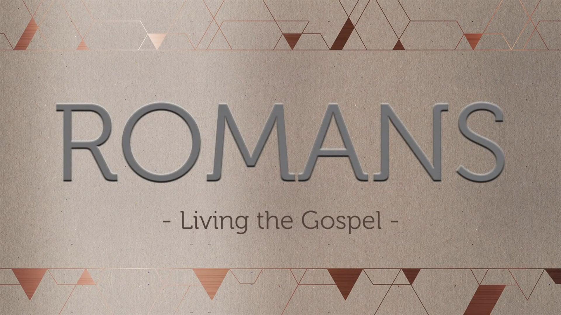 Week 7: Live on Mission Together -Romans 15:14-16:27