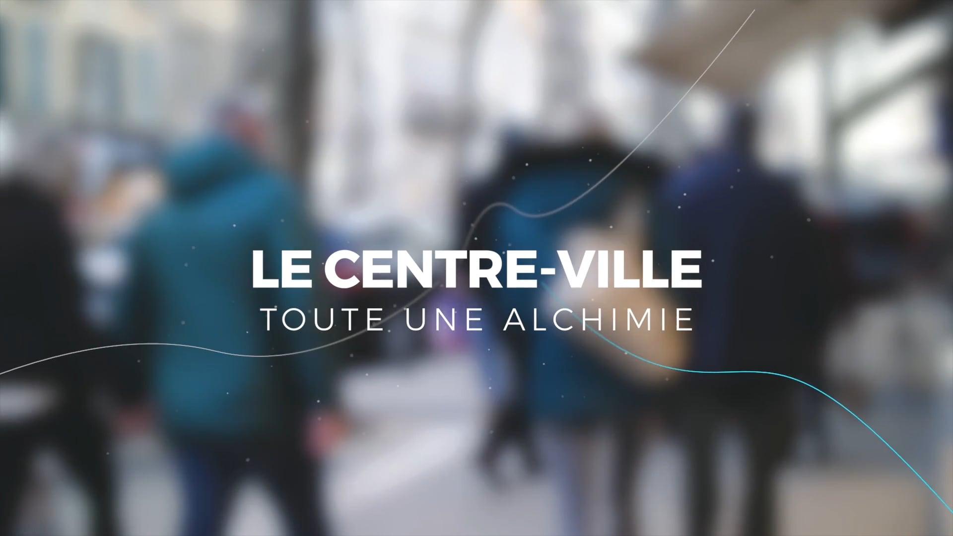 LA REDYNAMISATION DES CENTRES-VILLES