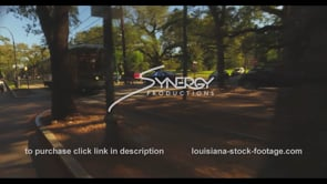 1080 New Orleans streetcar passes up camera