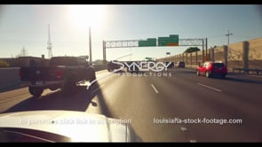 1075 Interstate 10 i10 traffic time lapse video stock footage