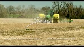 698 John Deere tractor planting corn cotton soybean