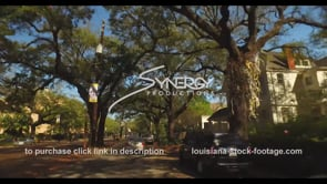 1071 St Charles street New Orleans time lapse stock footage video