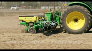 700 ECU John deere tractor seeder planting crop seeds