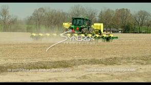 702 American farmer planting seeds stock footage video