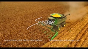 1055 tractor harvesting corn for ethanol production