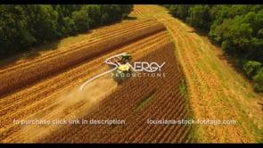 1056 epic shot farmer unloading corn during harvest