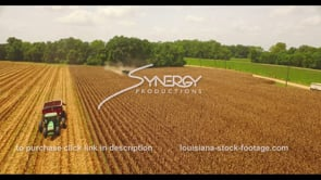 1051 Louisiana agriculture farming corn harvest