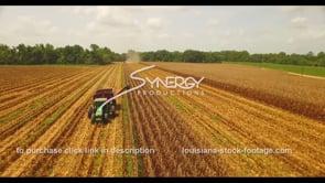1049 dry drought season during corn harvest
