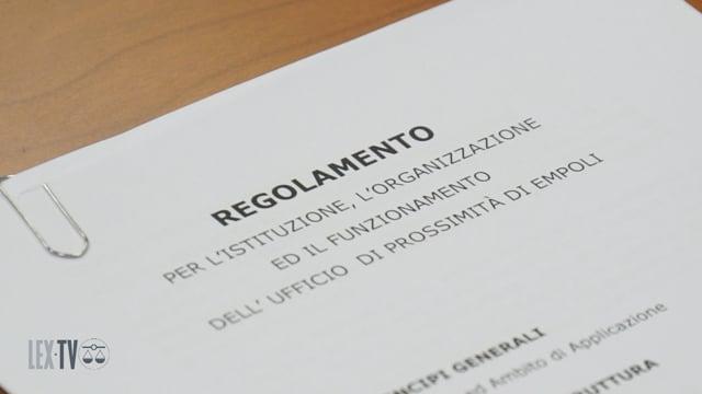 16/05/2019 Firmato il regolamento attuativo per lo sportello di prossimità di Empoli