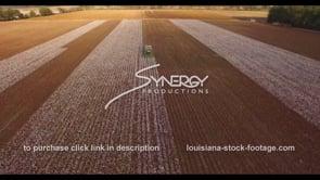 911 Agriculture farmland cotton field harvest
