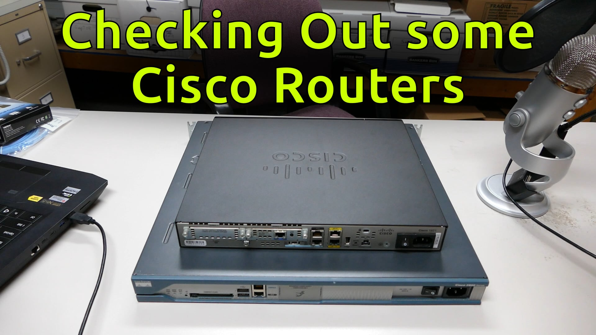Checking Out some Cisco Routers