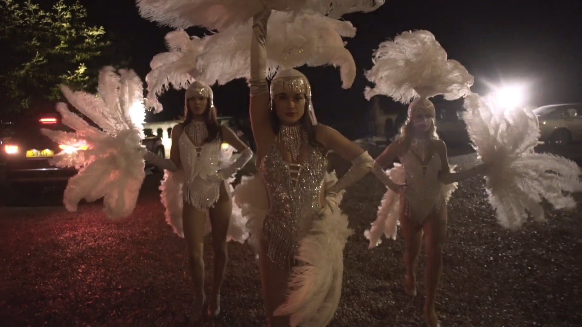 Ashton's Showgirls at Orchardleigh House - Event Entertainment