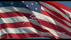 1270 awesome american flag slow motion video stock footage
