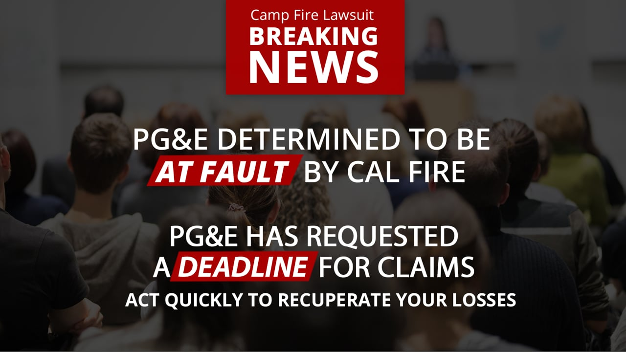 Cal Fire: PG&E To Blame For Camp Fire