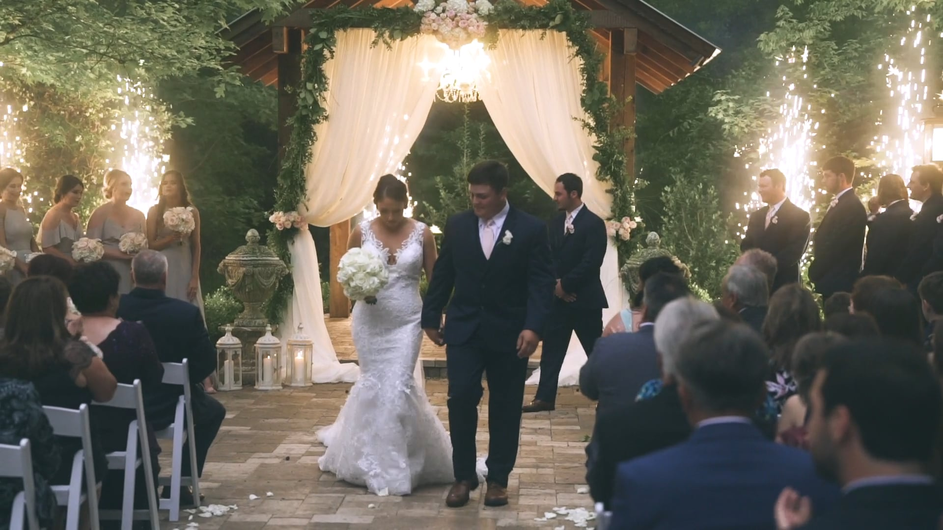 Fireworks Illuminate Magical Young Love in Mandeville | Jena & Tyler