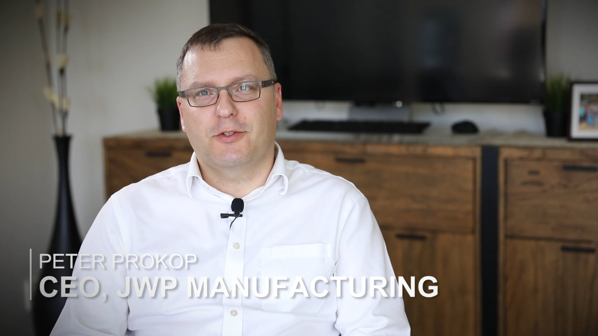 Peter Prokup CEO of JWP Manufacturing Interview