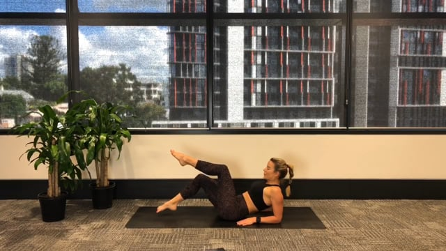 30min abs and glutes