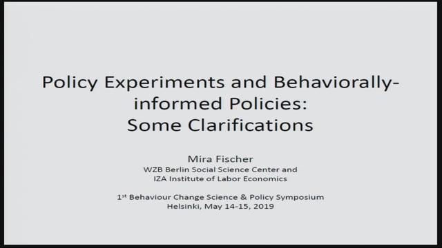 3. DISCUSSANT: Dr. Mira Fischer