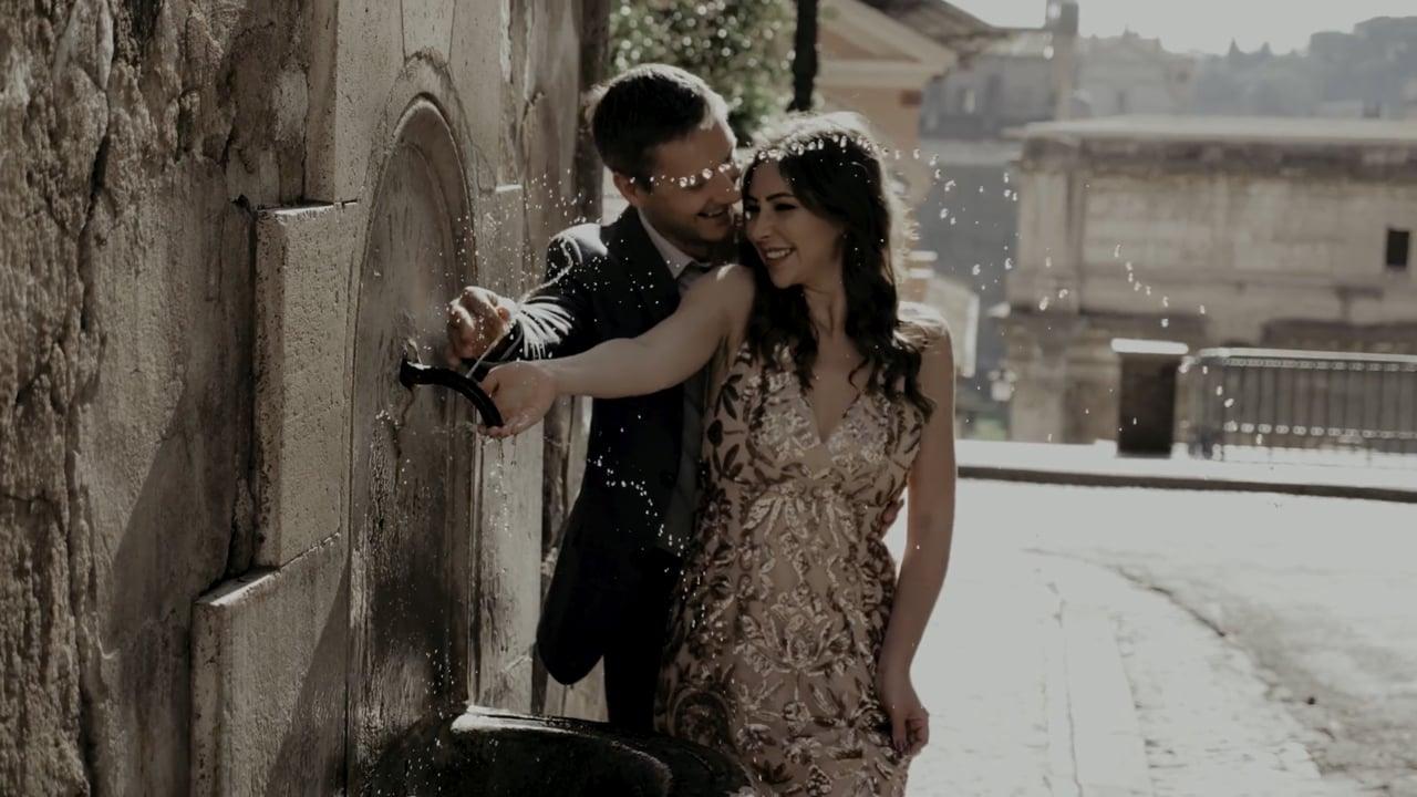 Nastya+Sasha Rome. Love story