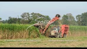 868 sugarcane agricultural tractor harvesting