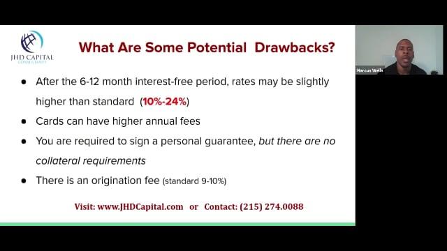 Unsecured Funding Program Drawbacks