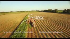 885 epic aerial sugarcane in Louisiana