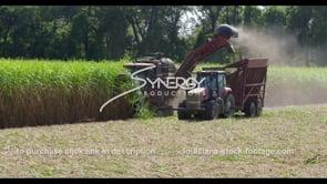 887 tractor harvesting sugarcane tilt up