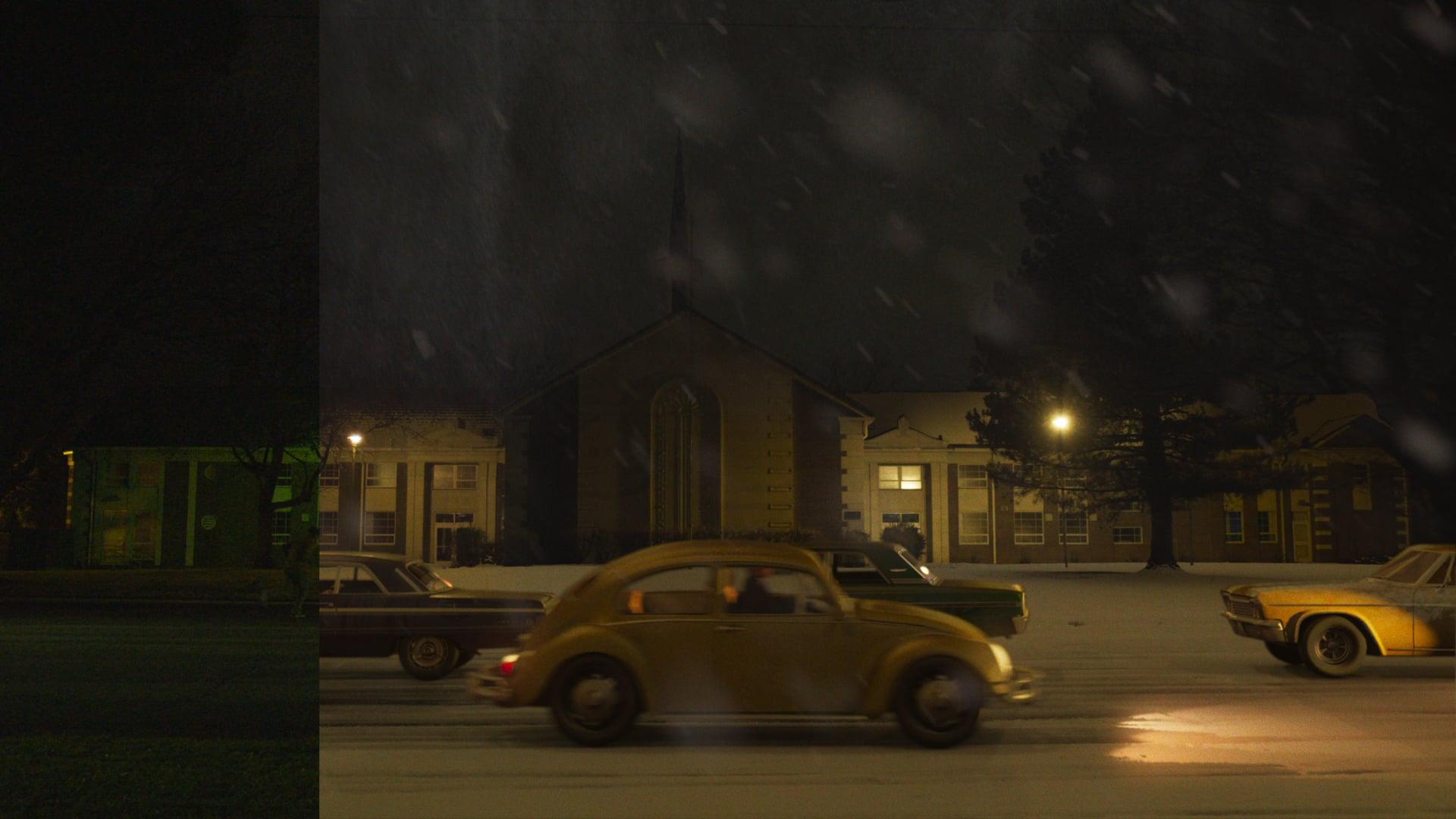 Snowy Church VFX - Houdini, Octane, Nuke