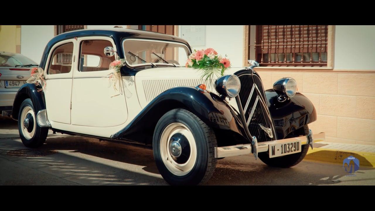 Alquiler coche clasico boda - Pilar & Antonio CocheBoda