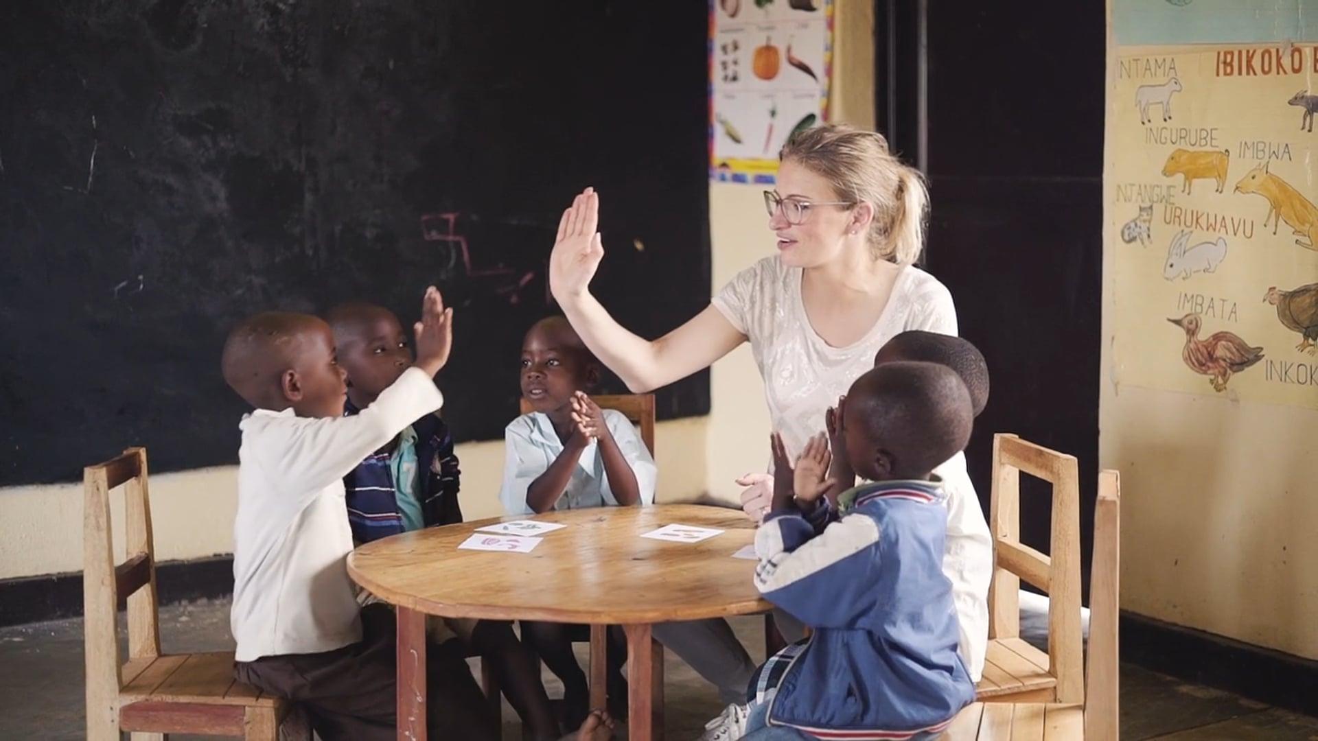 Red een Kind in Rwanda