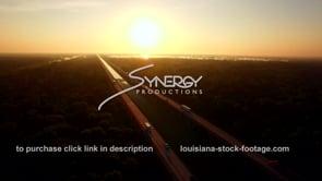041 Henderson swamp 1 10 i10 interstate bridge aerial drone