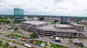 108 lake charles convention center downtown aerial view