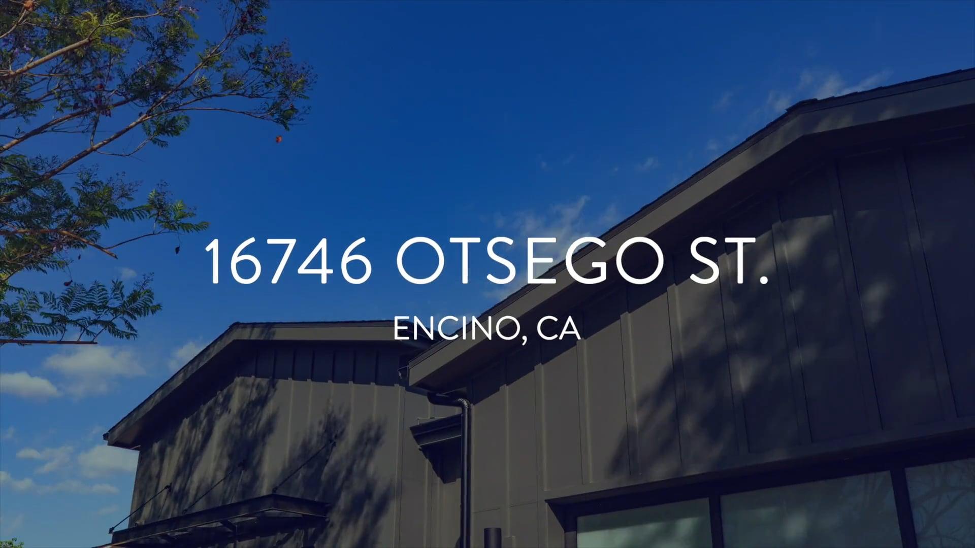 16746 Otsego St. | Encino CA
